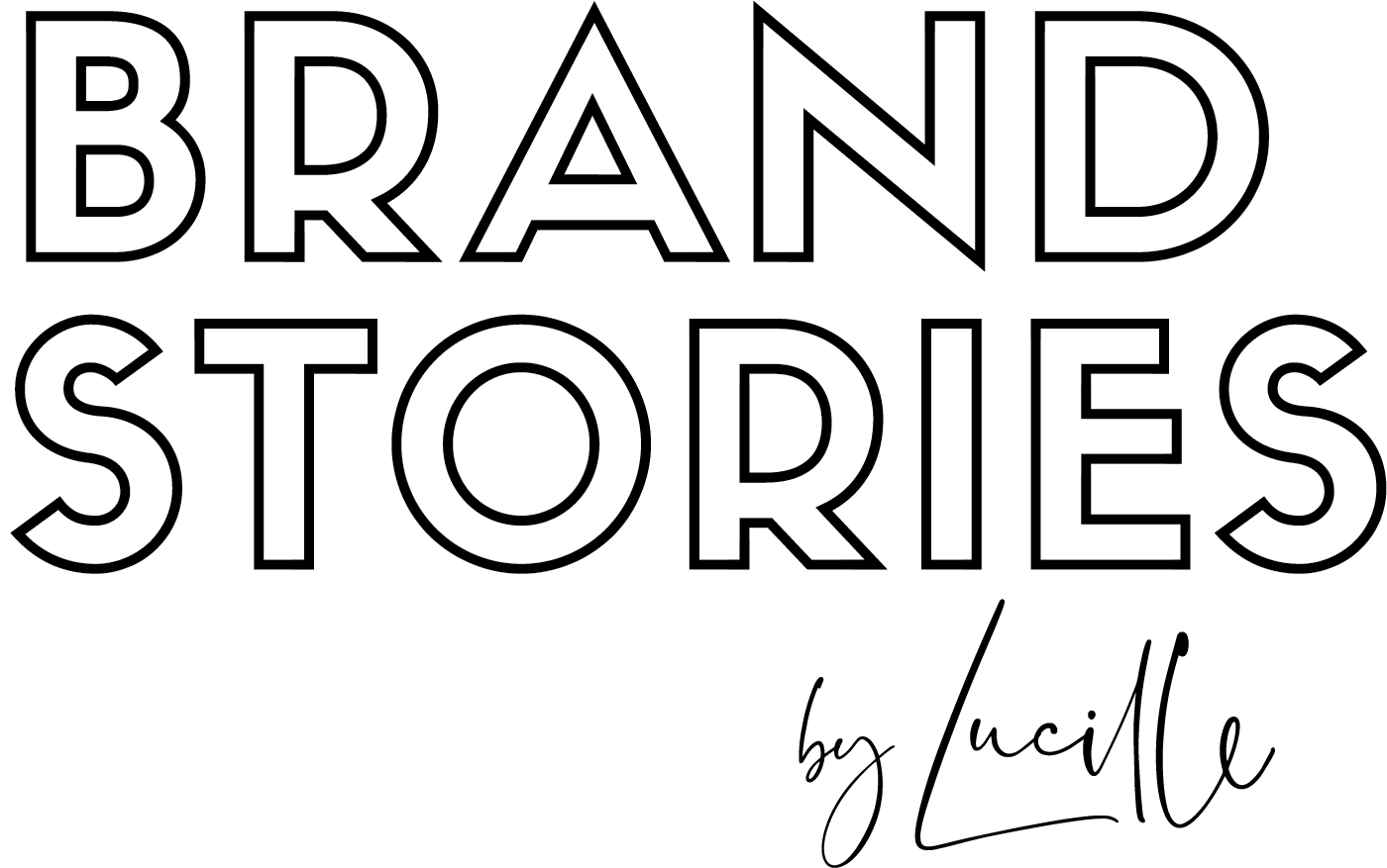 Brand Stories by Lucille Logo